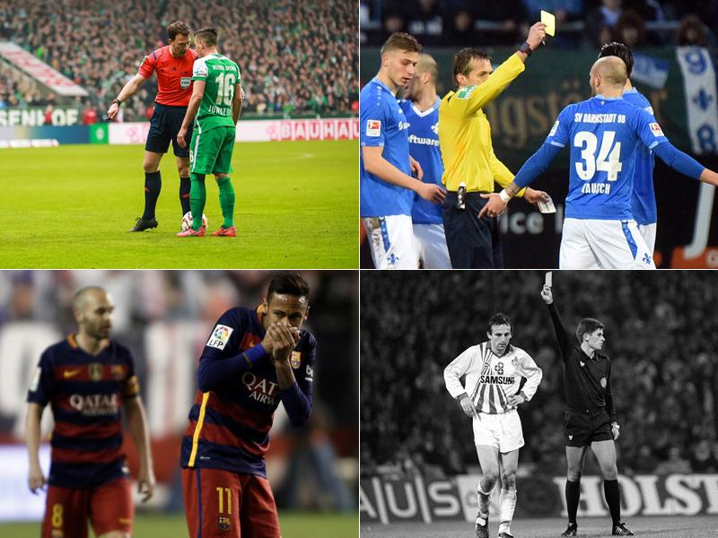Zlatko Junuzovic, Konstantin Rausch, Neymar und Frank Ordenewitz
