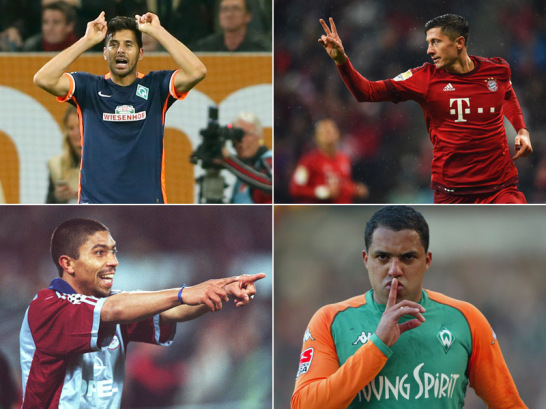 Ausl�nder mit den meisten Bundesliga-Toren