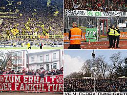 Verh�rtete Fronten: Fans f�hlen sich kriminalisiert