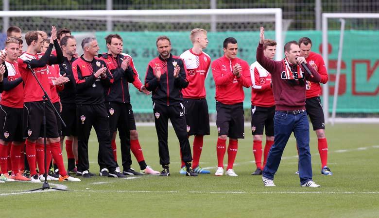 Kiebitz-Invasion: VfB-Fans zwischen Wut und Liebe