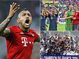 Vidals High Five, Alabas Rekord und Dantes Anteil
