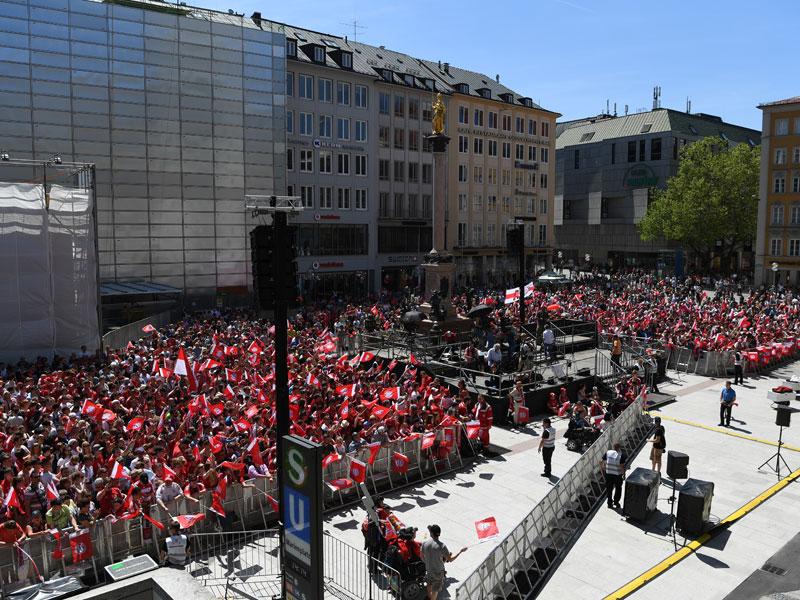 Pep holt den Pott: Guardiolas letzte Bayern-Feier