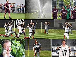 Schwei�,Wasser, Spa�: Eintracht Frankfurt legt los