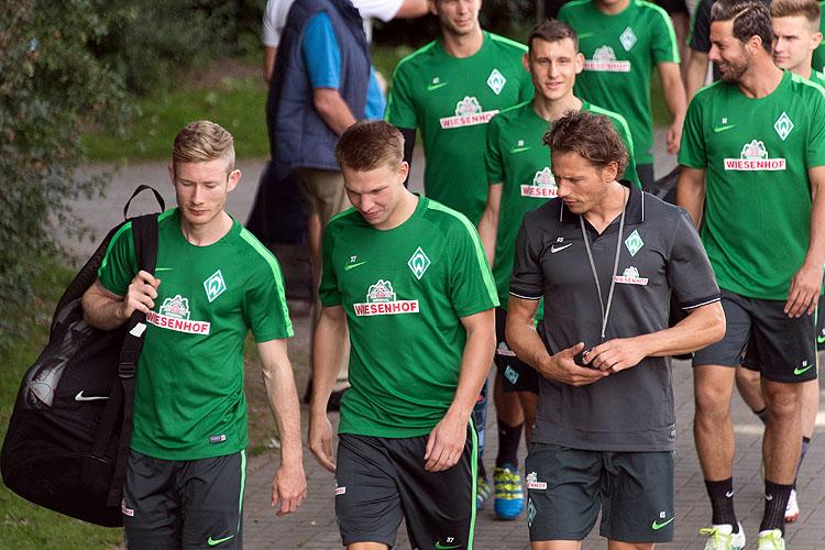 Bremen: Aufwärmen für das Trainingslager