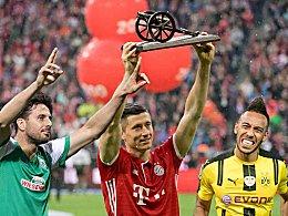 Lewandowski auf dem Thron - Drei Gladbacher vorn dabei