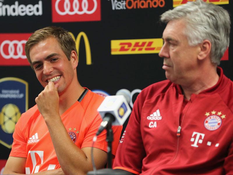 Eine Stelle noch offen: Die Kapit�ne der Bundesligisten