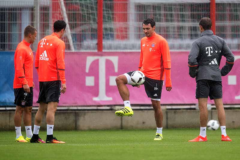 Trainingsstart f�r Renato Sanches und Co.