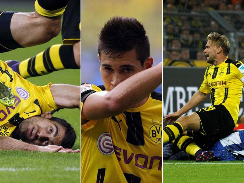 Die Ausfallliste von Borussia Dortmund ist ellenlang. Wer kann gegen Hertha am Freitag spielen? Wer nicht? Und wie lange fehlen die Langzeitverletzten noch? Zwölf BVB-Personalien im Überblick - und die voraussichtliche Aufstellung.