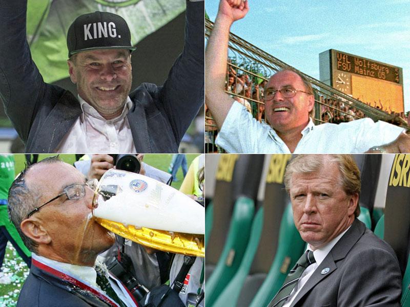 Alle Wolfsburger Trainer in der Bundesliga