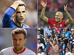 Diese Bundesliga-Verträge laufen 2018 aus