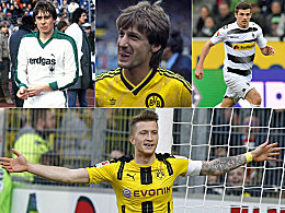 Krauss, Mill, Reus: Doppel-Borussen in der Bundesliga