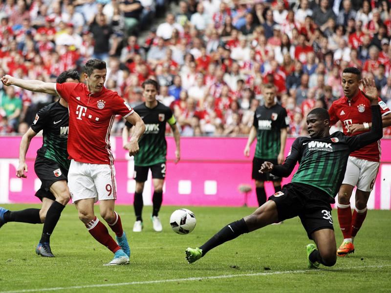Lewandowski gegen Aubameyang: 8:8 im Zahlen-Duell