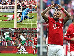 Bayerns Meilensteine auf dem Weg zum Titel