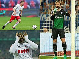Modeste, Fährmann und Co.: Die Dauerbrenner der Bundesliga