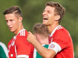 Evina trifft doppelt - FC Bayern gewinnt ersten Test