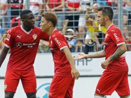 VfB-Neuzugang Donis trifft - Nur 1:1 bei den Kickers