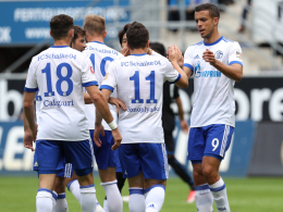 Schalke gewinnt Test in Paderborn - Oczipka sieht agilen Harit