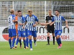Leckie: Erstes Tor für Hertha - und ein Lob