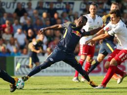 Sechs RB-Tore: Keita treibt an, Bernardo mit Eigenwerbung