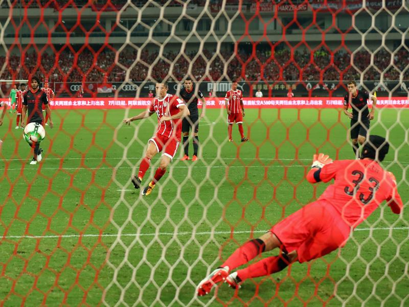 FC Bayern verliert gegen FC Arsenal