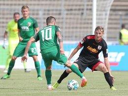 Nur Ji trifft: Müder FCA unterliegt Regensburg