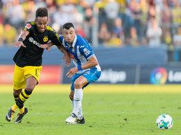Piatti lupft über Bürki - BVB unterliegt Espanyol