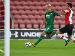 4:0 in Southampton: Augsburg setzt ein Ausrufezeichen
