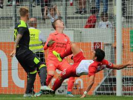 Augsburger Nullnummer gegen Eindhovens B-Elf