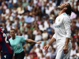 Bale glücklos: Reals Fehlstart perfekt