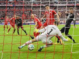 Robben und Müller leiten ein: Spielfreudige Bayern besiegen FSV