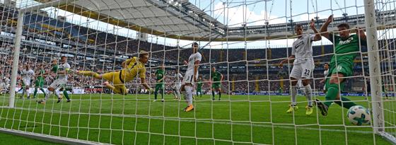 Augsburger Treffer zum 1:0
