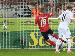Petersen rettet starkem Freiburg den Punkt