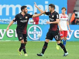 Dank Alario: Bayer schlägt Hamburg mit 3:0