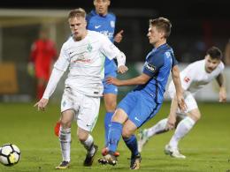 Werder spielt gegen freche Meppener remis