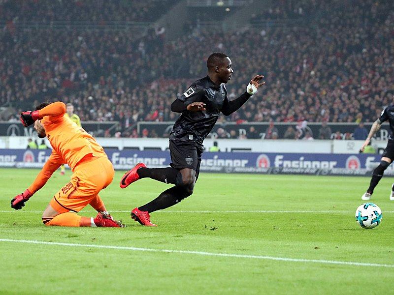 Ginczek und Akolo bei VfB-Sieg verletzt
