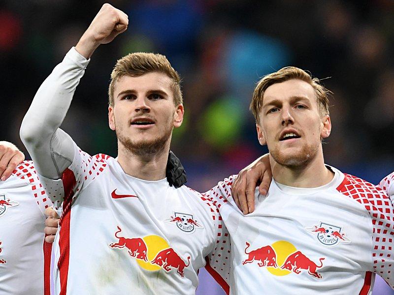 Timo Werner und Emil Forsberg