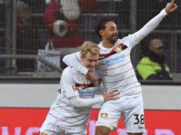 Spektakel in Hannover: 96 und Bayer trennen sich 4:4!