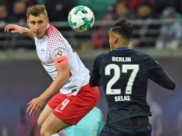 Doppelpacker Selke führt Hertha zum Sieg in Unterzahl