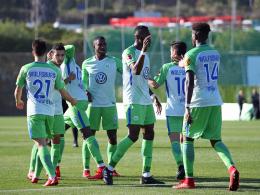 Wolfsburg-Sieg mit zwei Kapitänen