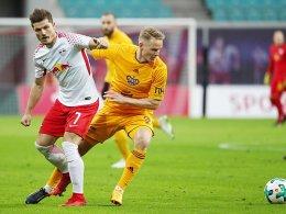 Leipzig gewinnt bei Sabitzers Comeback
