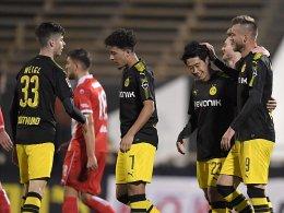 Isak und Kagawa schießen BVB zum Sieg