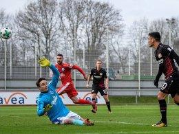 Bayer-B-Elf mit Remis gegen Sportfreunde Lotte