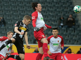 Dank Ginter und Hazard: Gladbach ringt Augsburg nieder