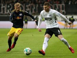 Kein normales Bundesligaspiel: Frankfurt bezwingt Leipzig