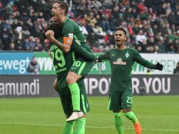 Belfodil und Kruse beenden Bremens Augsburg-Fluch