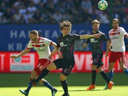 Pollersbeck hält HSV im Spiel, Holtby den Dino am Leben