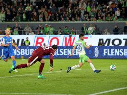 Malli verschafft Wolfsburg eine gute Ausgangslage