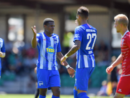 Hertha im Finale: Selke trifft, Dilrosun feiert Premiere