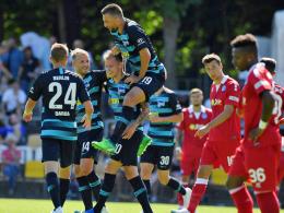 Mit Präzision: Duda sichert Hertha den Turniersieg