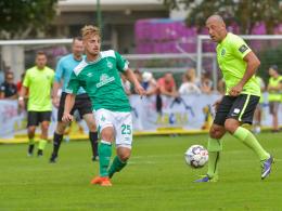 Werders B-Elf begeistert eine Halbzeit lang